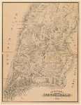 The Ratzer Map Of New York City, 1767.