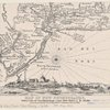Map Of New Netherlands, With A View Of New Amsterdam, (Now New-York) A.D. 1656.