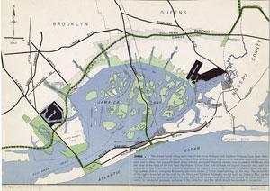 [Zoning map, Jamaica Bay, New York, 1938.]