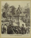Statue of the late, Hon. W.H. Seward, presented by the citizens of New York, and unvailed, September 27th, at Madison Square.
