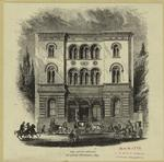 The Astor Library, original structure, 1853