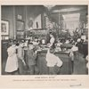 After school hours : interior of the Bond Street Branch of the New York Free Circulating Library.