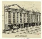 The Opera House, Astor Place, home of the Mercantile Library.