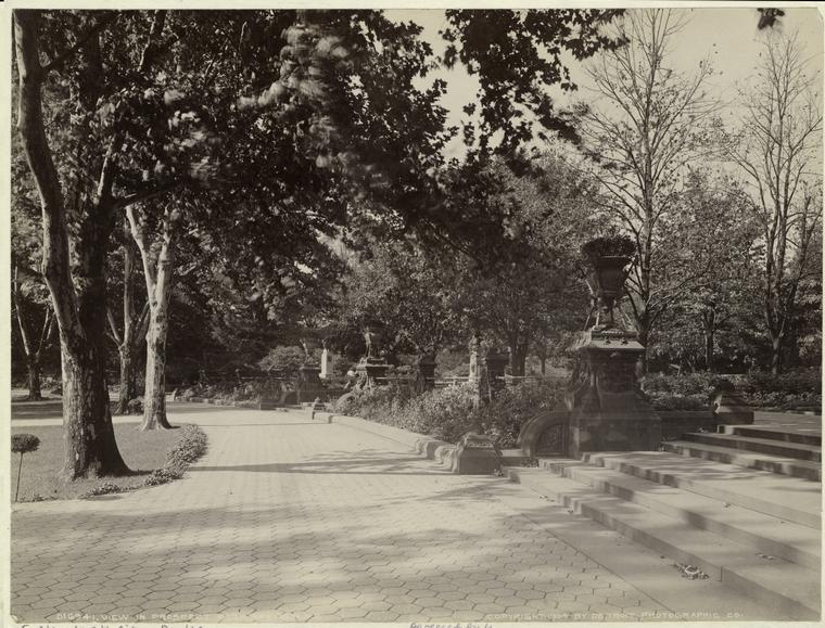 View in Prospect Park, Brooklyn, N.Y.