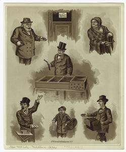 [Street peddlers, New York City, ca, 1870's.]