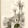 A well in a garden of Haifa, Showing a machine, called a sâkiyeh, raising water to fill the adjacent tank, on the right.