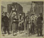The Black Maria -- Prisoners Leaving The Van At The Foot Of Twenty-Sixth Street, New York City, To Embark For Blackwell'S Island.