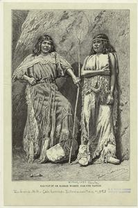Kai-vav-it or Kaibab women, Pah-ute [i.e. Paiute] nation.
