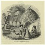 Summer huts of California Indians.