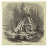 Indian encampment at Rivière du Loup.