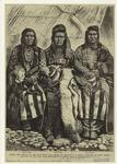 Idaho -- the defeat of the non-treaty Nez Perces by General N.A. Miles -- portraits of Chief Joseph and two of his aids (sic).