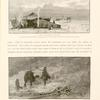 Sand-storm in the desert. The dreaded khamseen (wind and sand storm) very frequently overtakes the traveller in the region between 'Ayún Músa and Wâdy Amârah.  Dean Stanley, Neibhur, Miss Martineau all encountered it here.