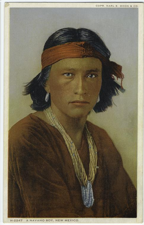 A Navaho boy, New Mexico.