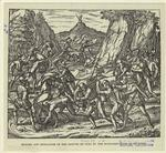Murder and mutilation of the natives of Cuba by the Spaniards.