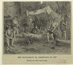 The settlement of Jamestown in 1607