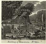 Building of Jamestown.