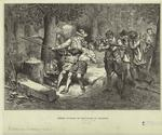 Indian attack on settlers in Virginia
