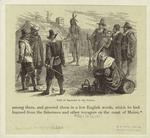 Visit of Samoset to the colony