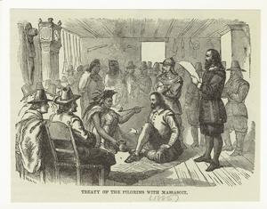 Treaty of the Pilgrims with Massasoit.