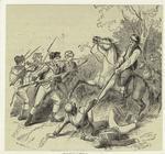 Skirmish with Puritans.
