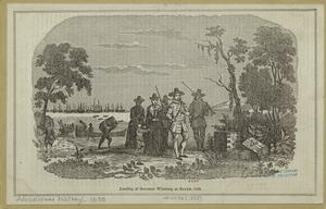 Landing of Governor Wintrop at... Digital ID: 808166. New York Public Library