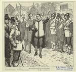 Winthrop blessing the soldiers