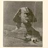 """The Sphinx. Called by the Arabs """"Father of terrors."""" It faces the east, and is hewn out of the natural rock."""