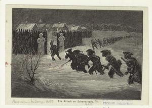 The attack on Schenectady.