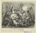 The fight on the schooner's deck