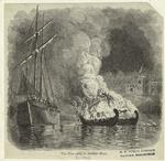 The fire-rafts in Detroit River