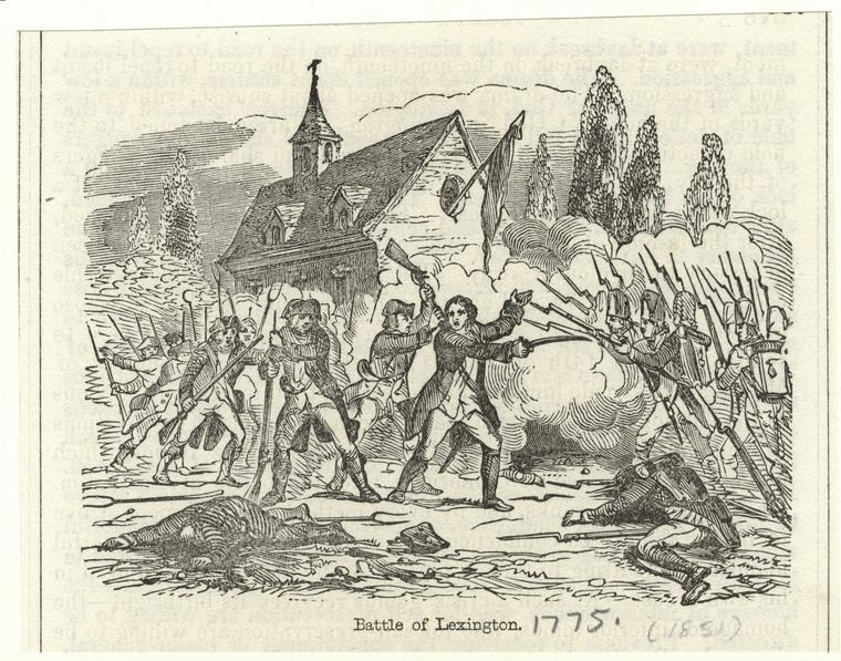 Battle of Lexington.