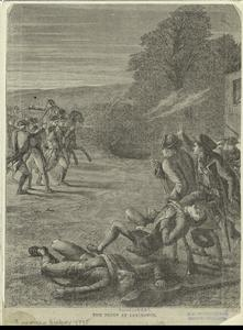 The fight at Lexington.