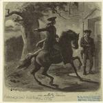 Paul Revere at Lexington.