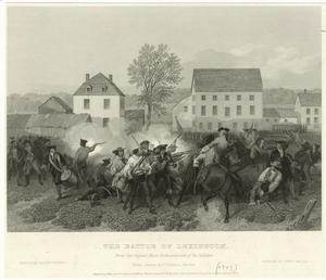 The Battle of Lexington.