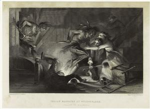 Indian massacre at Wilkesbarre (Valley of Wyoming).