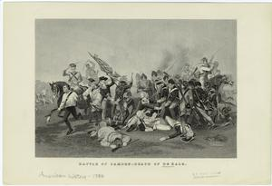 Battle of Camden -- death of de Kalb.