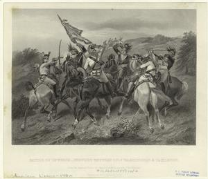 Battle of Cowpens - conflict between Cols. Washington & Tarleton.
