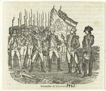Surrender of Cornwallis.