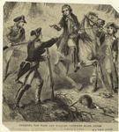 Paulding, Van Wart, and Williams capturing Major André.