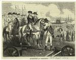 Surrender at Yorktown.