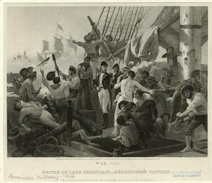 Battle of Lake Champlain - McDonough's victory.
