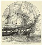 "The ""Shannon's"" crew boarding the ""Chesapeake."""