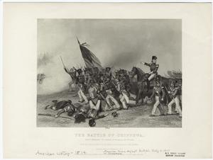 The Battle of Chippewa : Scott ordering the charge of McNeil's battalion.