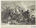 Battle of New Orleans--death of General Pakenham.