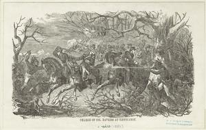 Charge of Col. Daveiss at Tippecanoe.
