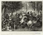 Battle of the Thames--death of Tecumseh.
