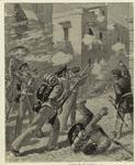 Street fighting in Mexican War.