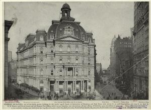 Old General Post Office and U.... Digital ID: 809382. New York Public Library