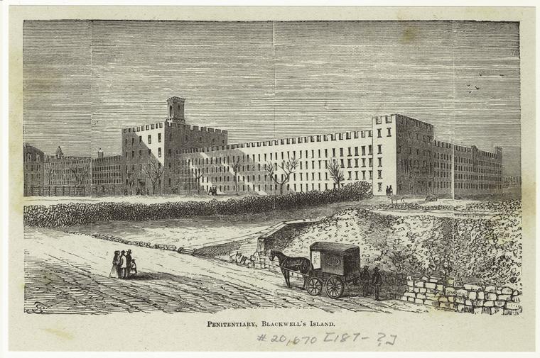 Penitentiary, Blackwell's Island.