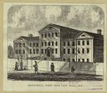 Bridewell, West Side City Hall, 1816.